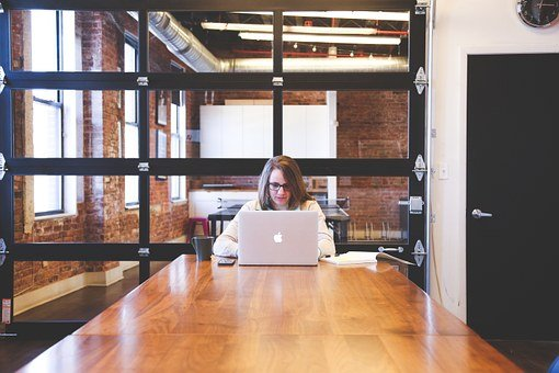 Student, Typing, Keyboard, Text, Woman